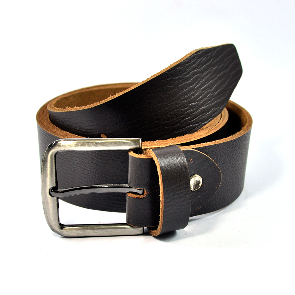 Stylish Black Fancy Buckle Belt