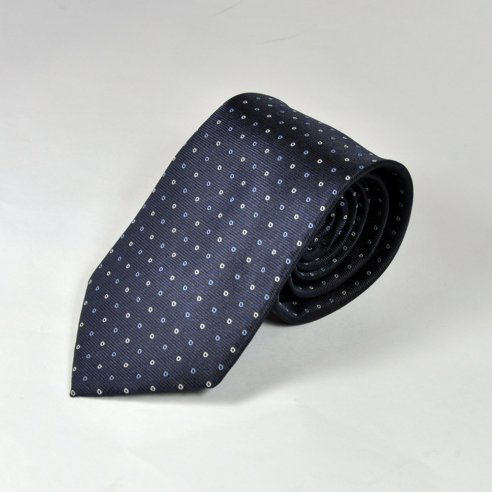 Blue Dotted Tie 1