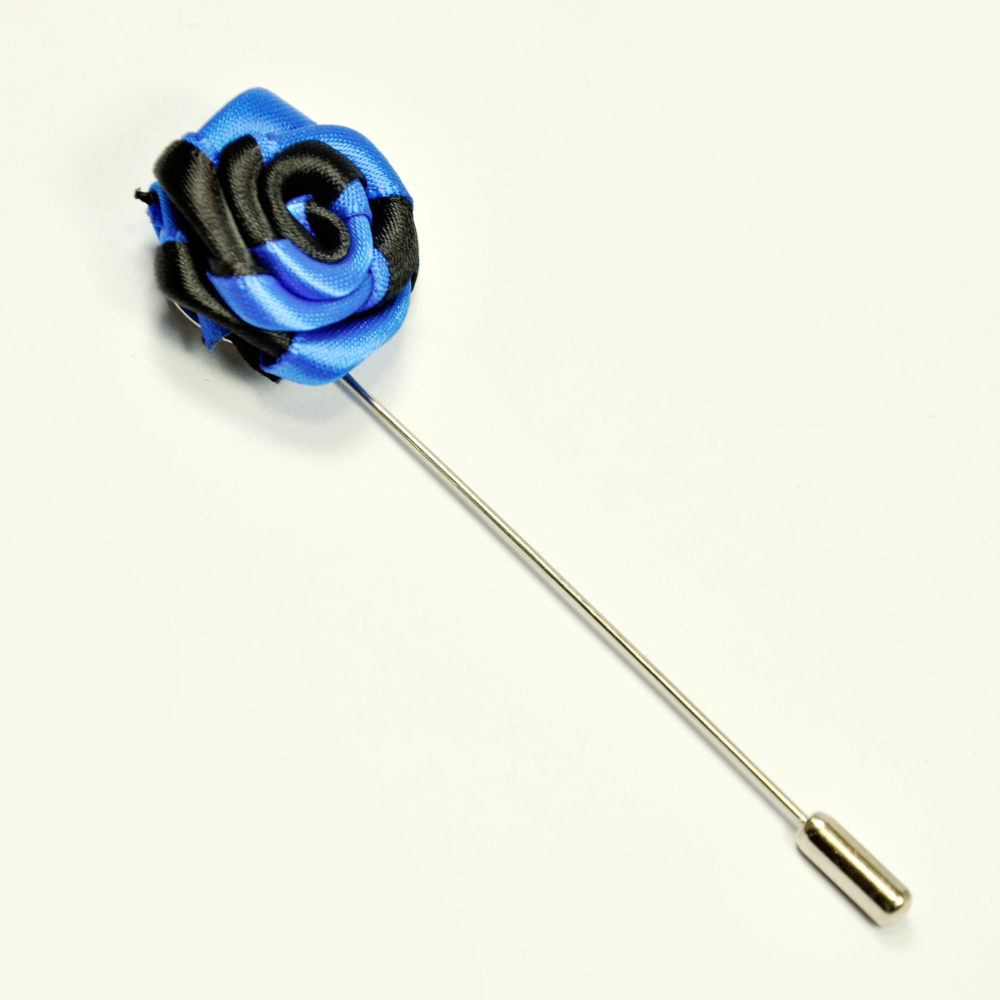 Sky Blue & White Lapel Pin