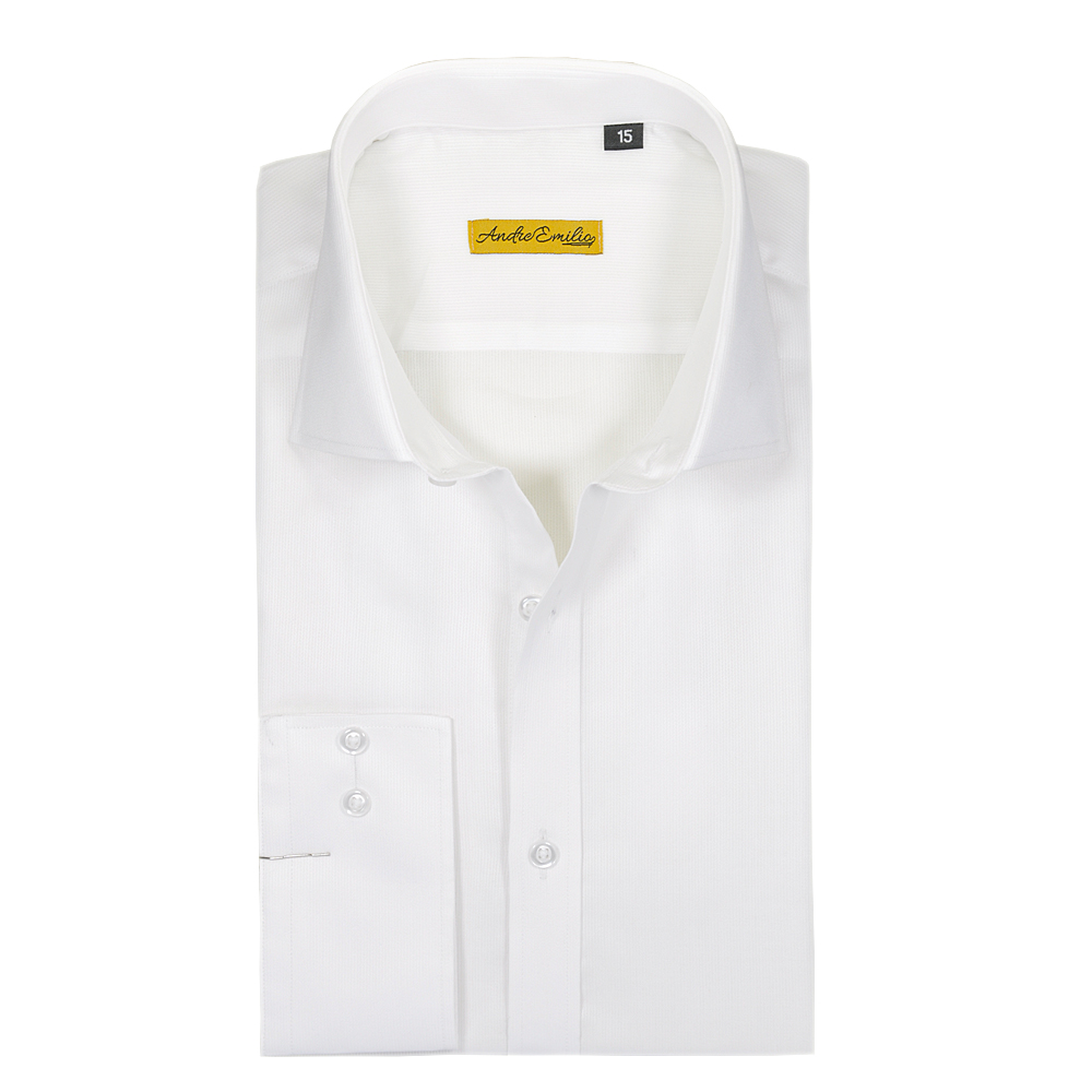 White Lining Plain Formal Shirt