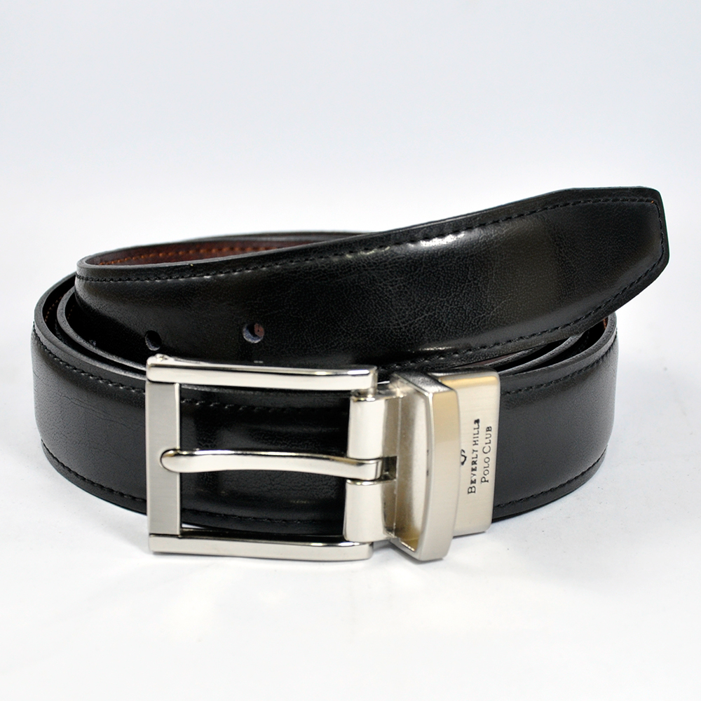 Belt with Fancy Reversible Buckle