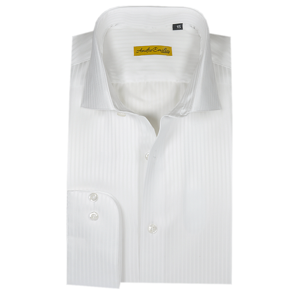 White lining Slim Fit Formal Texture Shirt for Men 1