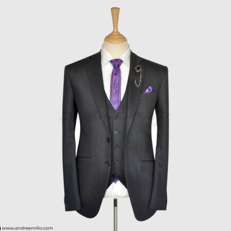 Grey 3 Piece Suit