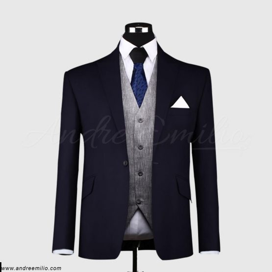 Men's Grape Purple Tonic 3 Piece Suit