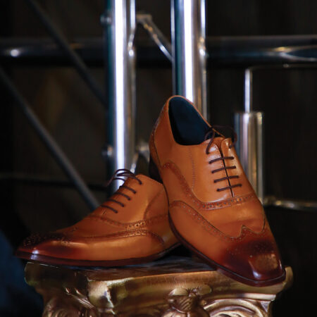 Brogue Lace Up Dress Shoes