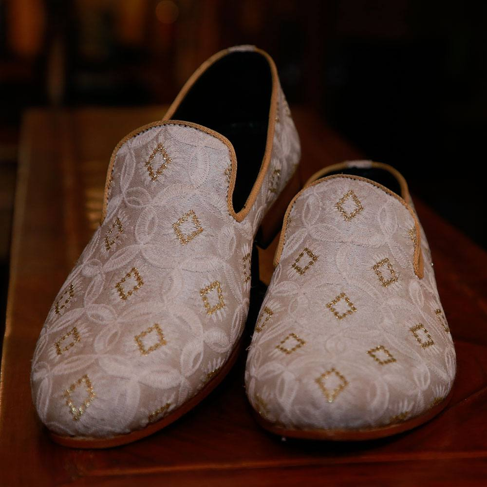 Off White Suede Loafers (2)