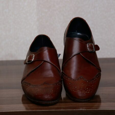 Single Monk Strap Shoes