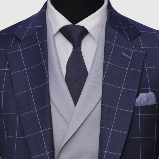 Glen Check 3 Piece Suit (4)