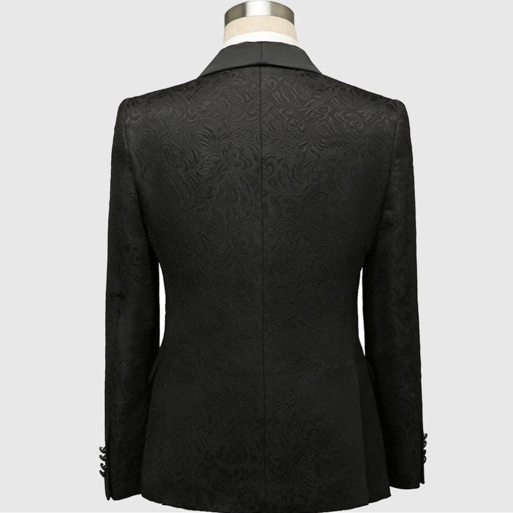 Black Wedding Tuxedo