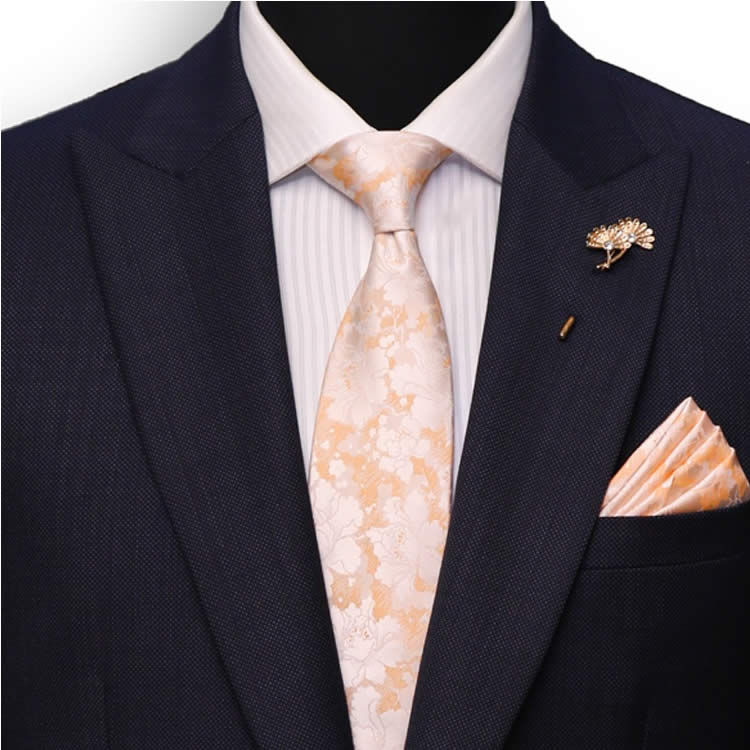 Midnight Navy Blue Suit Front