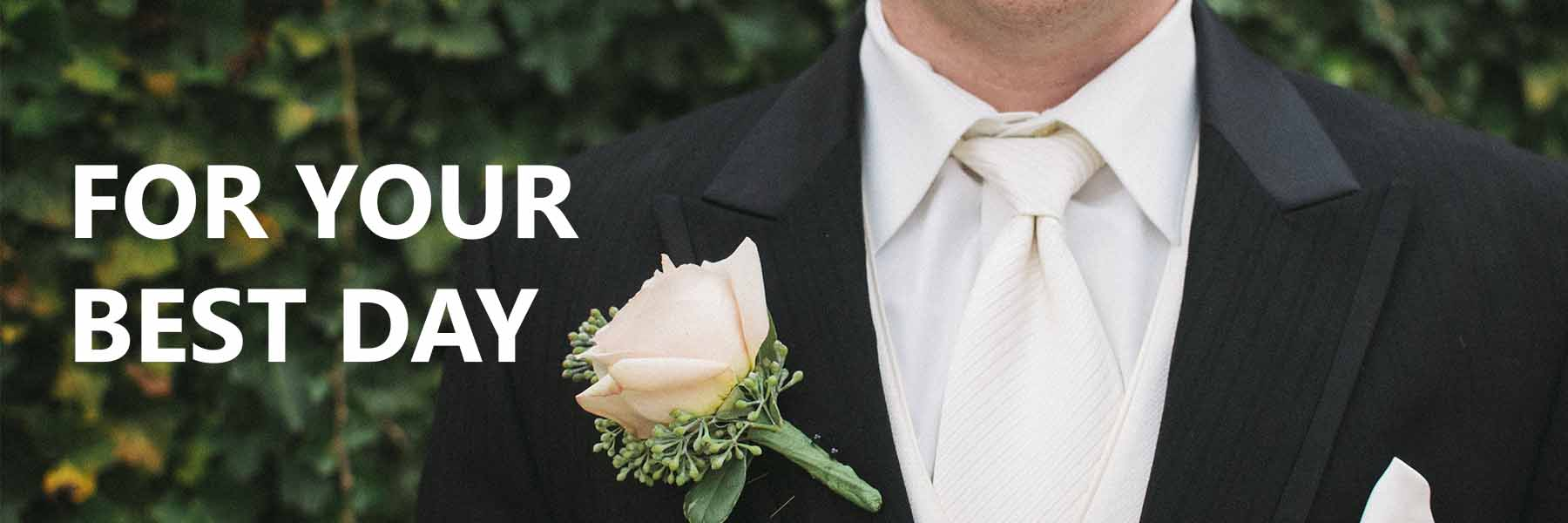 Products Banner Wedding Suits